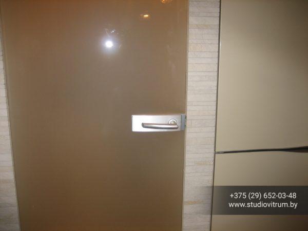 dsb 17 600x450 - Двери стеклянные распашные, маятниковые без коробки