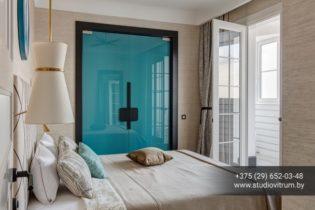 dsb 22 315x210 - Двери стеклянные распашные, маятниковые без коробки