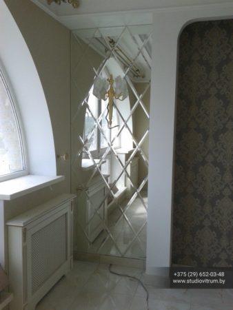 psz 37 338x450 - Панно и зашивка стен стеклом и зеркалом